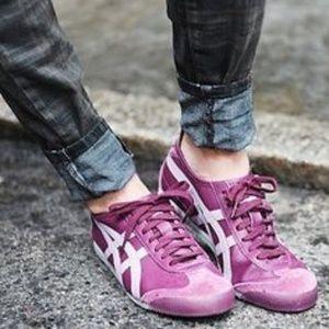 Asics Onitsuka Tiger Serrano Retro Sneakers Purple